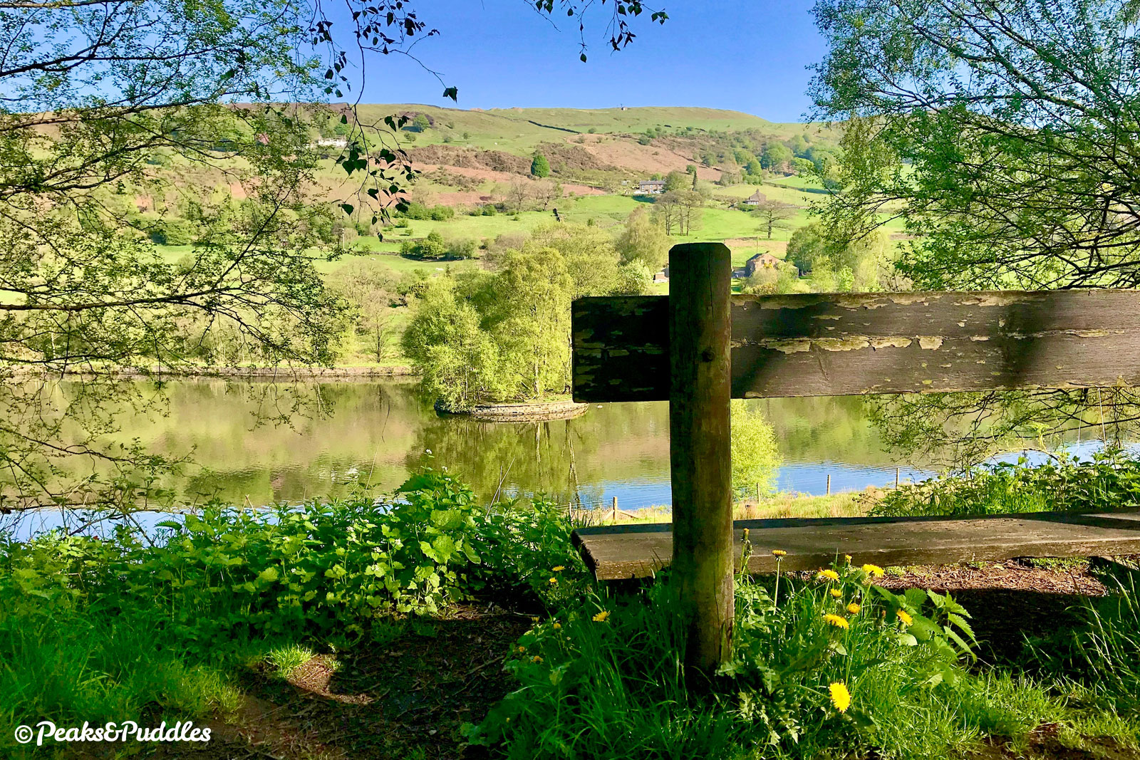 Across the reservoir is Lantern Pike, an evocatively named hill which the Pennine Bridleway runs partly over.