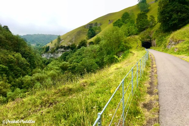 The man-made ledge above Water-cum-Jolly Dale between Cressbrook and Litton tunnels on the Monsal Trail is undoubtedly one of the most awe-inspiring places in the Peak District.