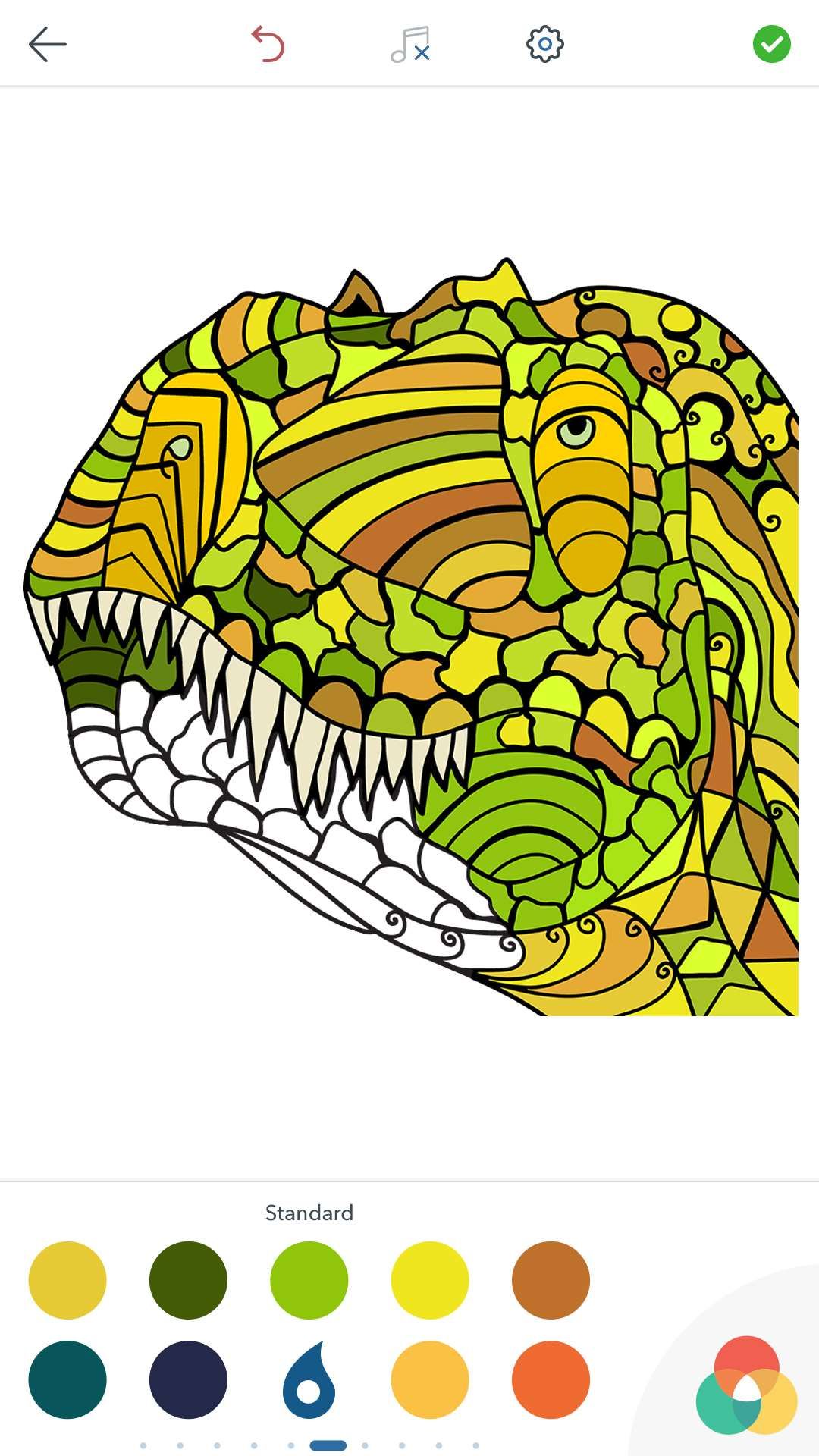Adult Dinosaur Coloring Pages For Android IOS And Windows
