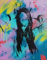 bonnet d'ane est une peinture streetart par peam's streetartiste et artiste urbain