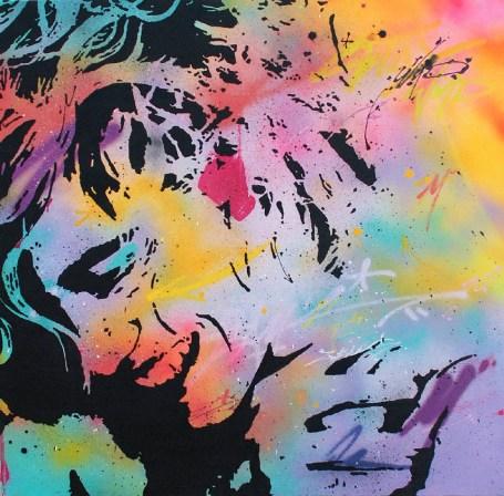 toile de l'artiste urbain peam's streeart