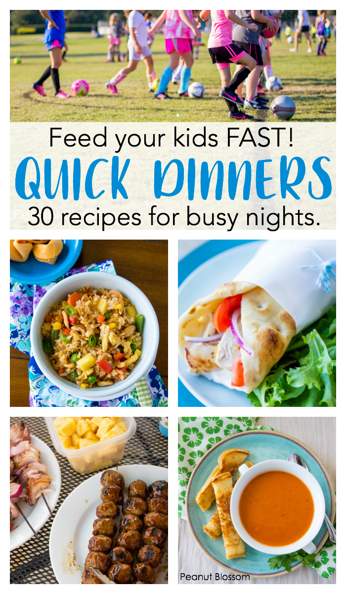 Quick Dinner Ideas Kids