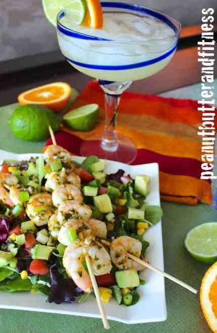 Spicy Margarita Shrimp Salad