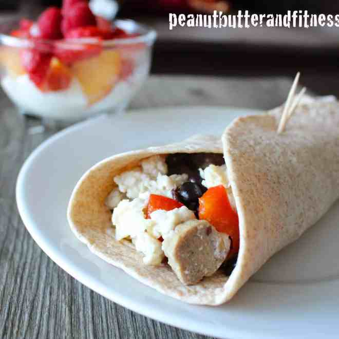Southwestern Breakfast Burrito (Quitting Cereal – Volume 3)