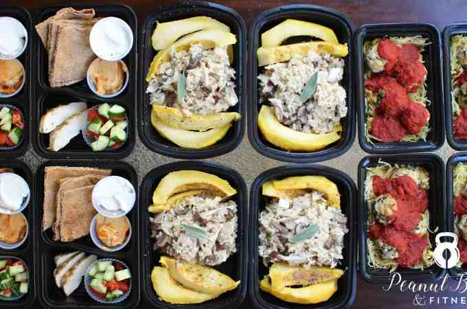 Meal Prep – Week of November 13th, 2016