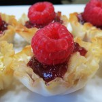 White Chocolate Raspberry Brie Cups