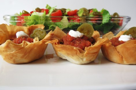 Taco Salad and Taco Cups