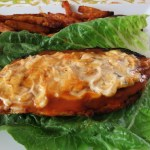 Low Carb Buffalo Chicken Sandwich