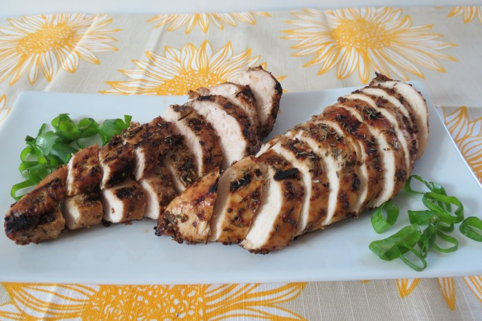 Grilled Chicken with Balsamic Dijon Mustard