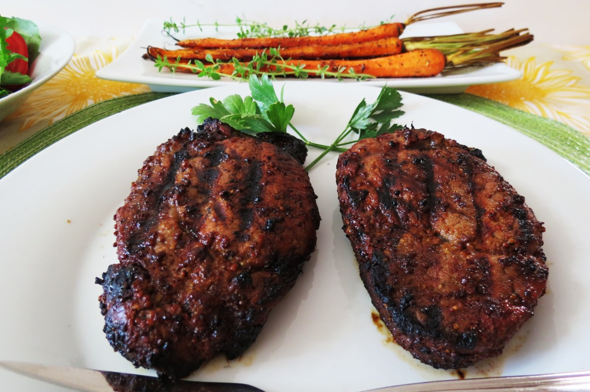 Grilled filet mignon peanut butter and peppers - Best marinade for filet mignon on grill ...