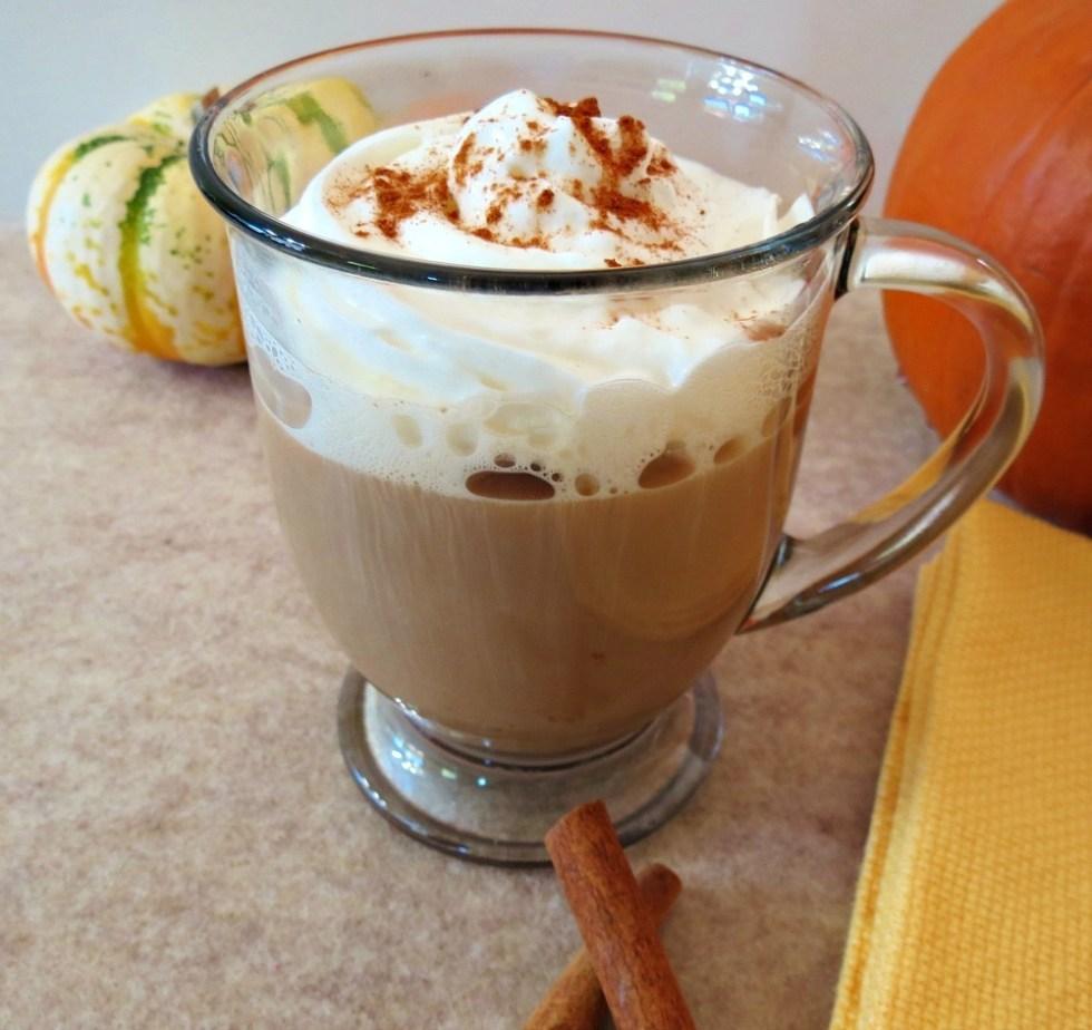 Pumpkin Mocha Spice Latte