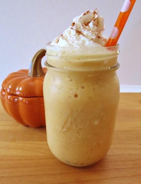 Pumpkin Spice Cream Frappe