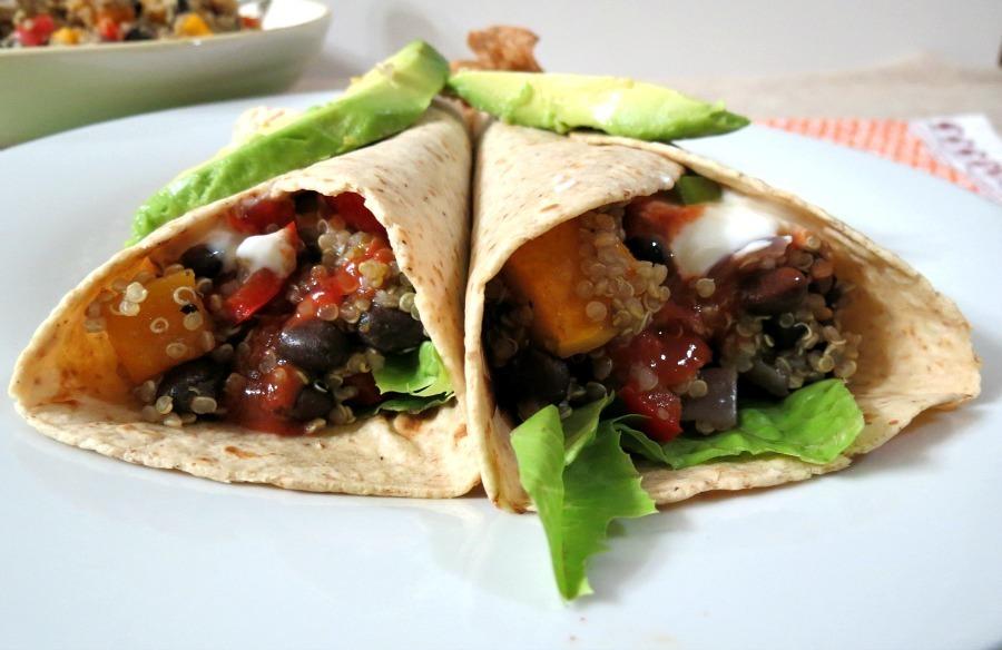 quinoa buttrnut squash and black beans 031a