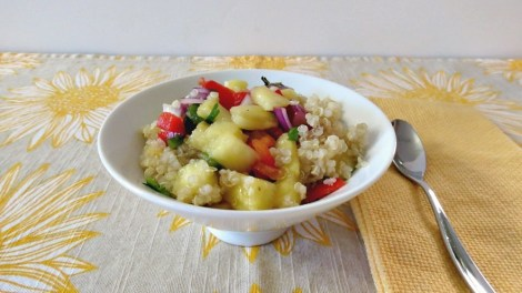 Pineapple and Quinoa Salad