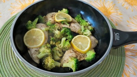 Lemon and Broccoli Chicken