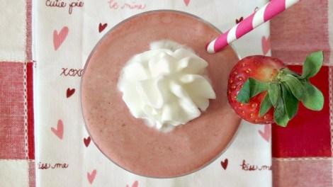 Skinny Strawberry Mocha Frappe