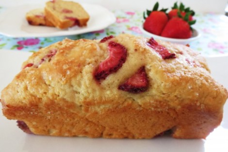 Strawberry Yogurt Bread