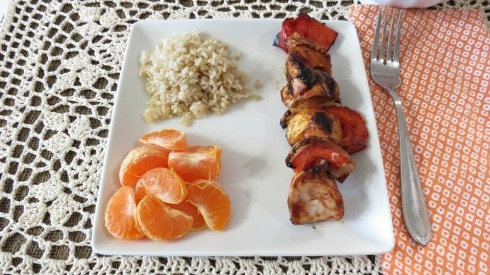 Mandarin Orange Chicken  Shish Kabob's