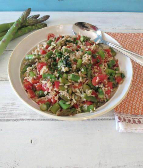 Asparagus and Basmati Rice