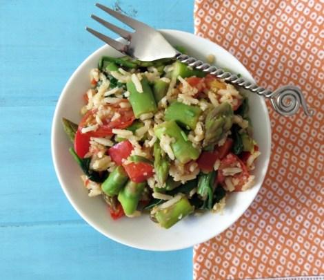 Asparagus and Basmati Rice Salad