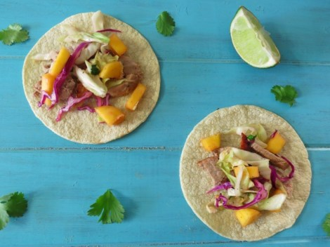 Grilled Pork and Bacon Tacos