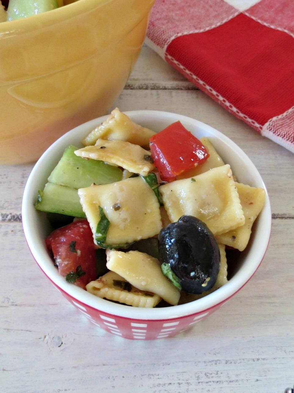 Meditteranean Pasta Salad