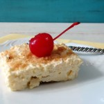 Banana Cream Pie Bars #SundaySupper