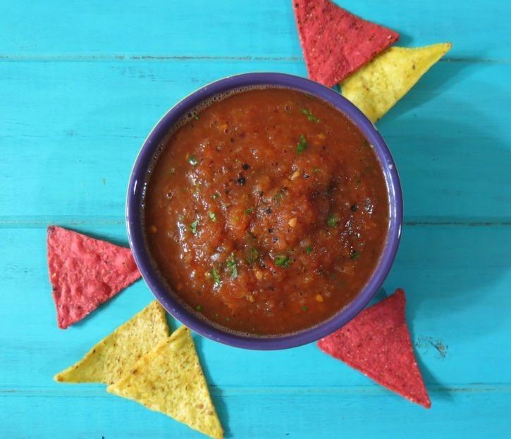 Fire Grilled Salsa