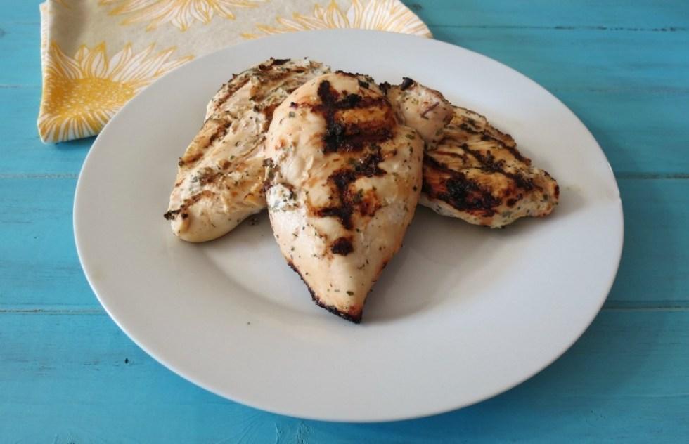 Yogurt Marinated Grilled Chicken