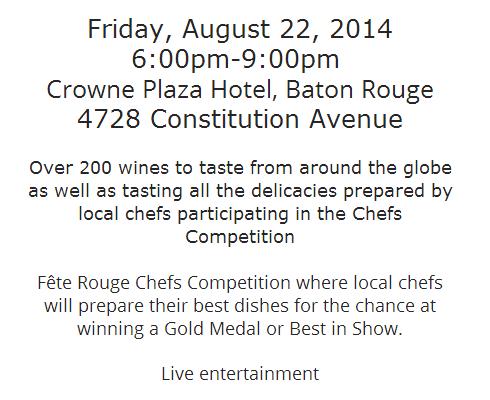 Fete Rouge Invitation