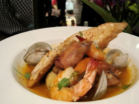 Southern Bouillabaisse Display