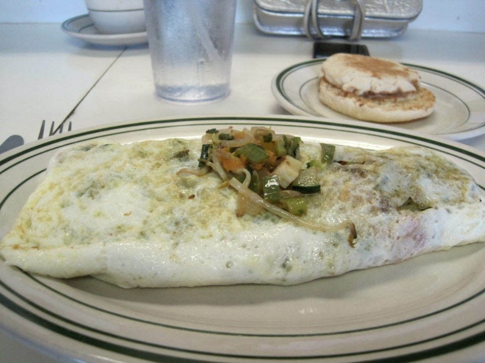 Ten Vegetable Egg White Omelet