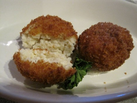 Cheese Grit Arancini