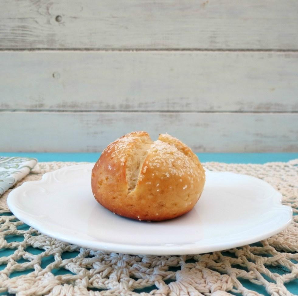 Gluten Free Pretzel Rolls