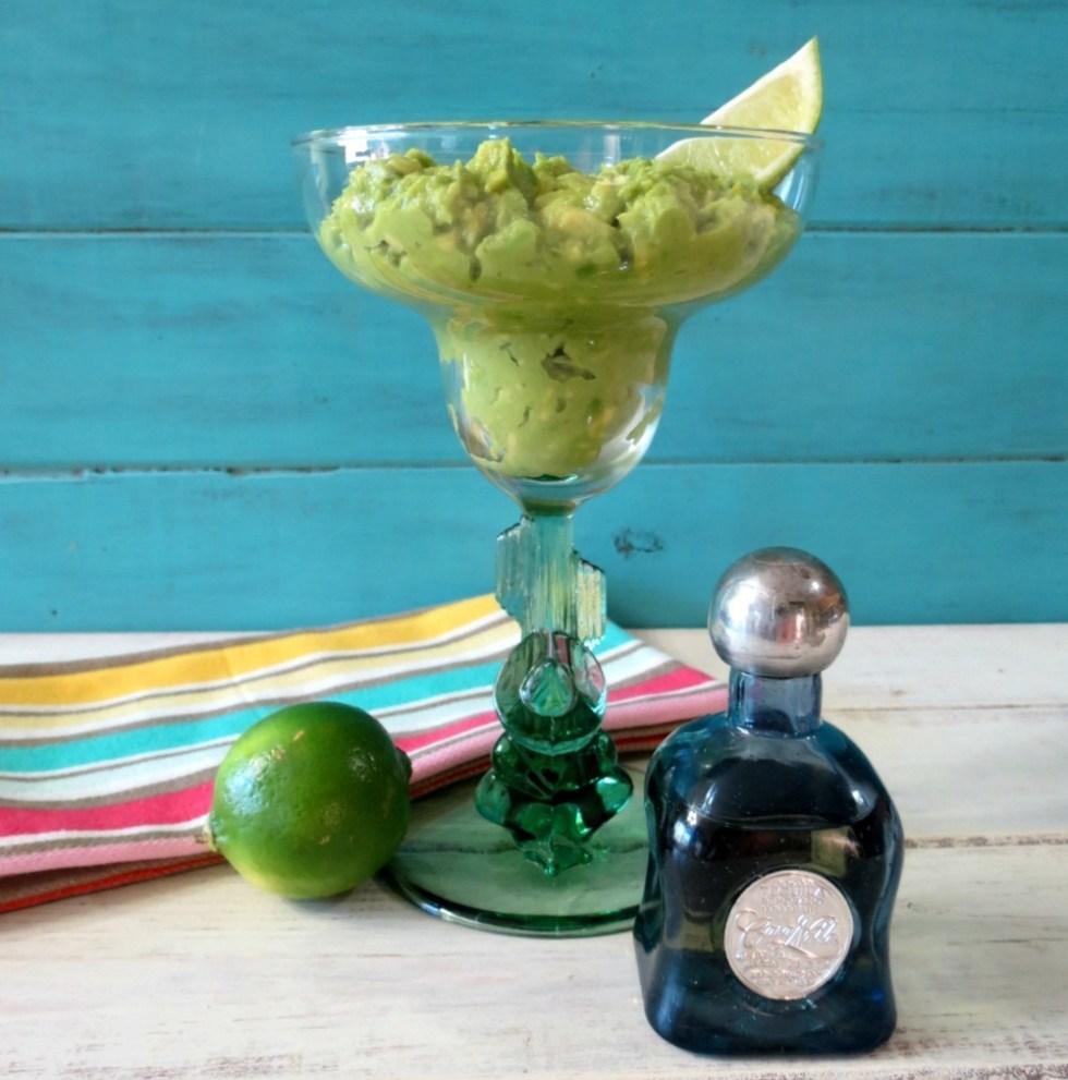 Margarita Lime Guacamole