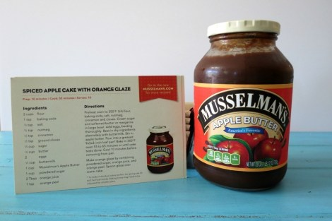 Mussleman's Apple Butter Giveaway