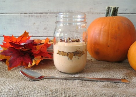 Pumpkin Pie Breakfast Jar Parfait