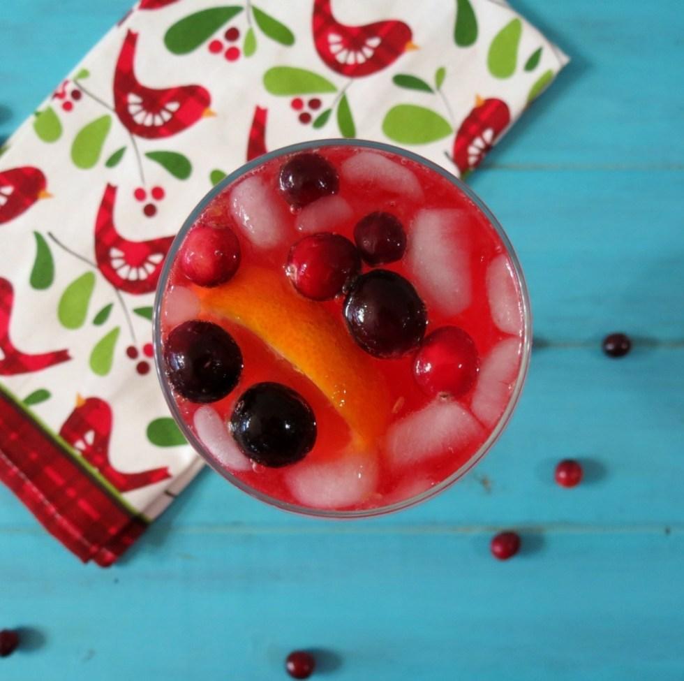 Cranberry Orange Spritzer