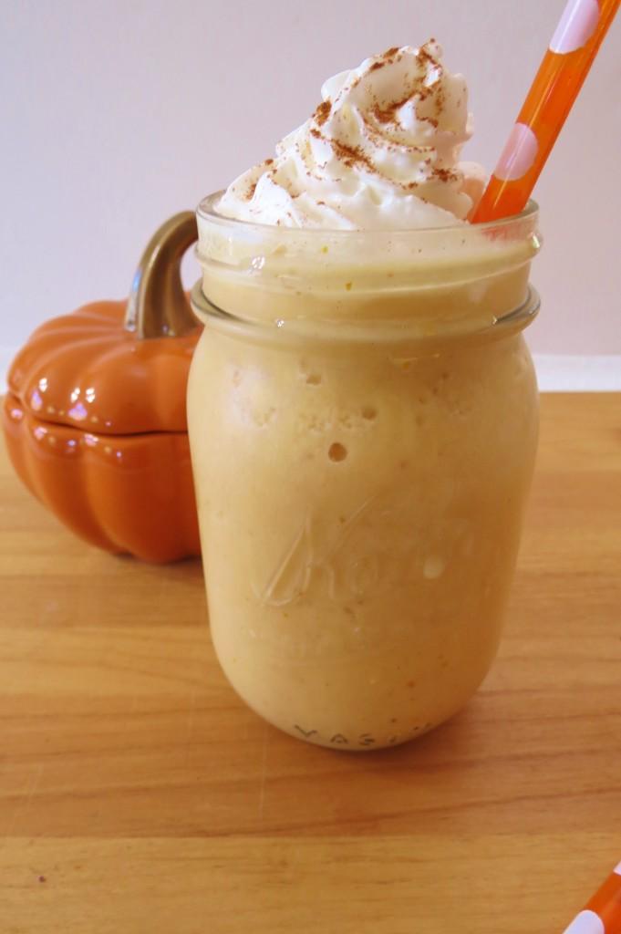 Pumpkin and Cream Frappe