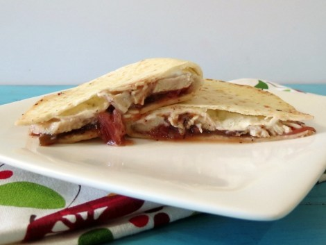Turkey Cranberry Fiesta Quesadilla