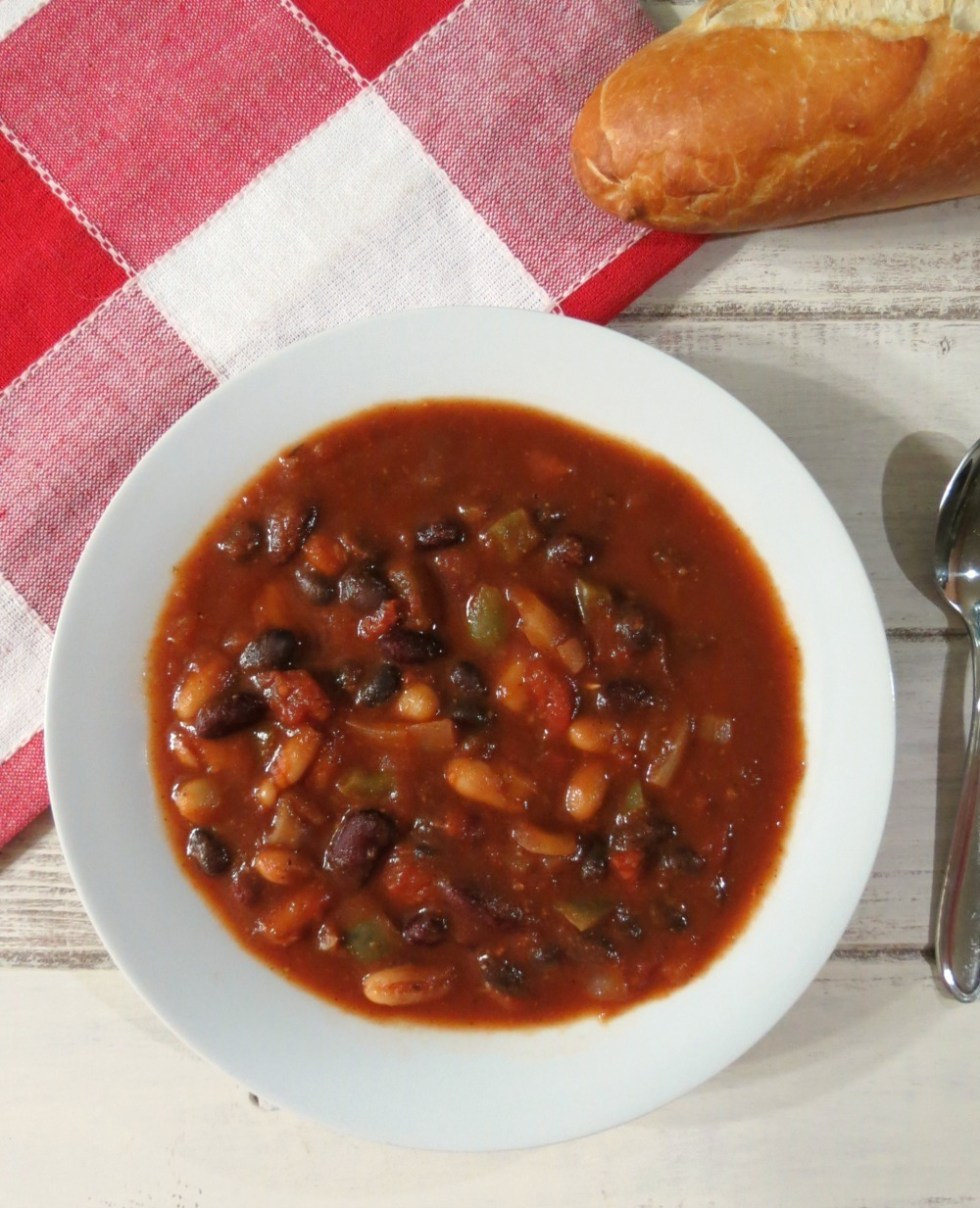 3 Bean Vegetarian Chili