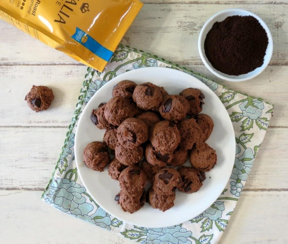 Chocolate Java Chip Cookies