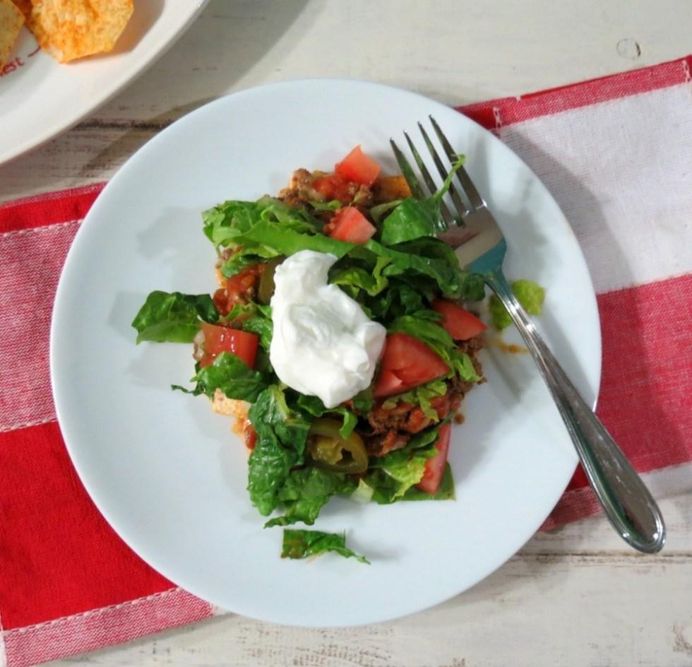 Nacho Taco Salad