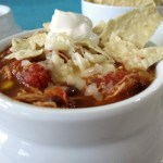 Southwestern Chicken Chili #SundaySupper