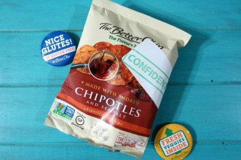 The Better Chip Chipotles with Sea Salt #TeamTBC