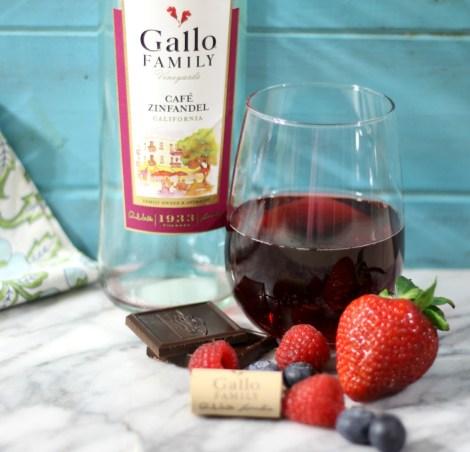 Gallo Family Vineyards Cafe Zinfandel