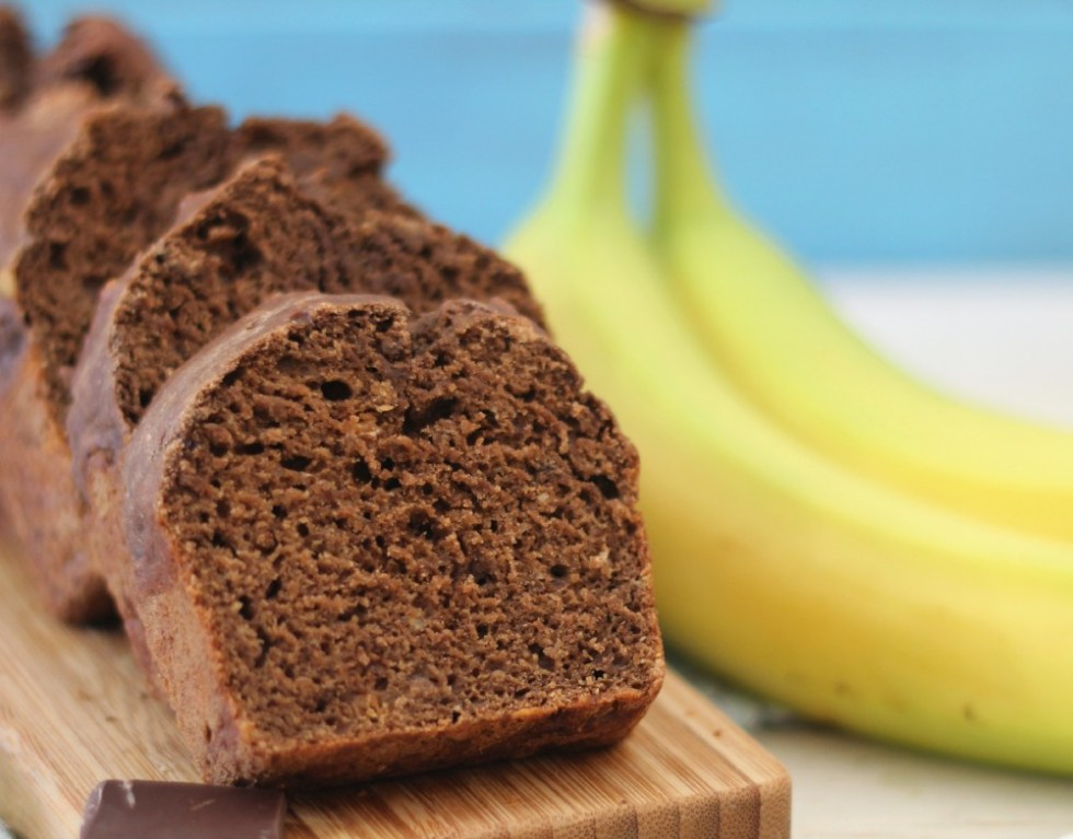 Chocolate Peanut Butter Banana Bread