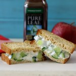 Cucumber & Dill Sandwich / Lipton Pure Leaf Iced Tea