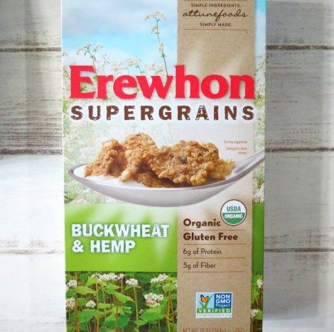 Erewhon Buckwheat and Hemp Cereal