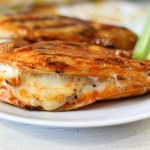 Yum Yum Wednesday – Grilled Cheese Buffalo Chicken